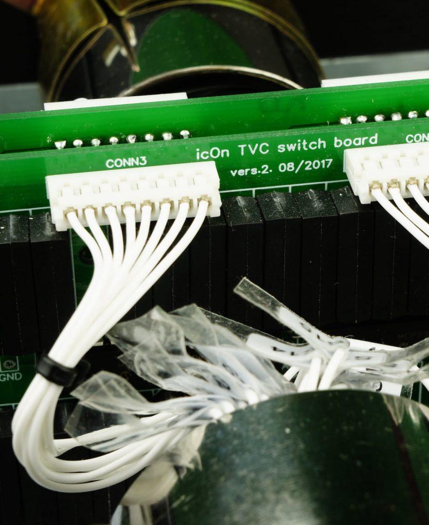 much shorter wires in icOn2